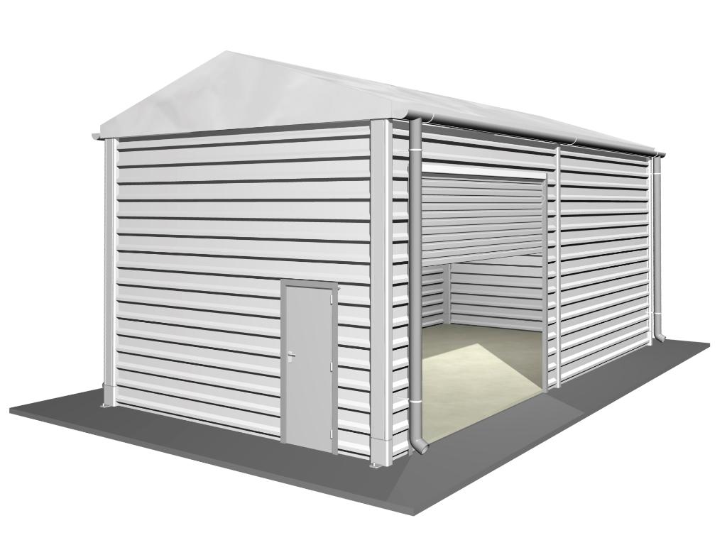 Bâtiments industriels non isolés 5 m, HS 4,20 m