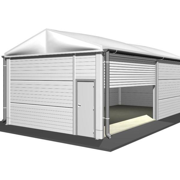 Isolierte Leichtbauhallen LT-500-320-405-2D
